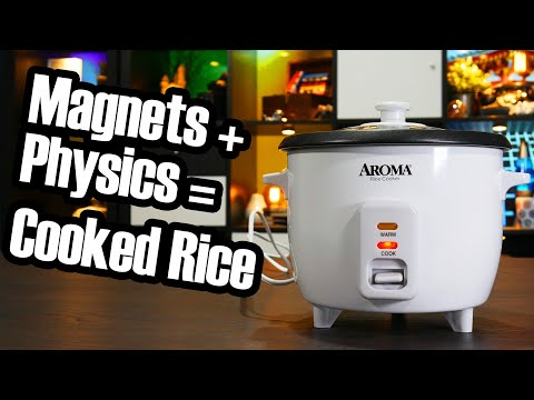 Old-fashioned rice cookers are extremely clever