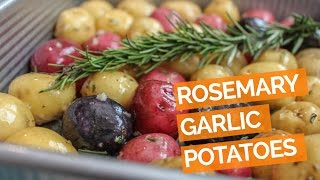 Roasted Baby Potatoes with Garlic, Rosemary