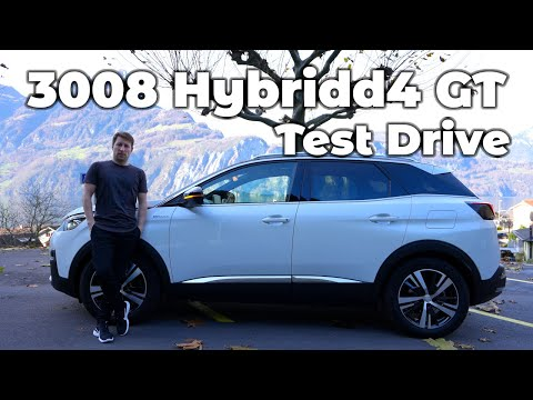 Peugeot 3008 Hybrid4 GT 2020 Test Drive DAY and NIGHT Review POV