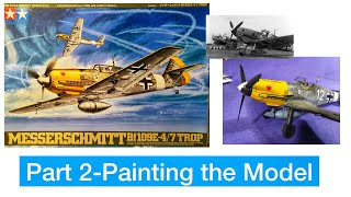 Building the Tamiya Messerschmitt Bf-109 Part 2