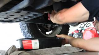 How to 2009 Jeep Oil Change