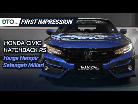 Honda Civic Hatchback RS 2020 | First Impression | Facelift Minimalis | OTO.com