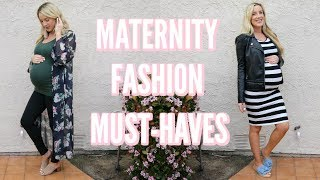 MATERNITY STYLE ESSENTIALS | MUST-HAVES FOR PREGNANCY!