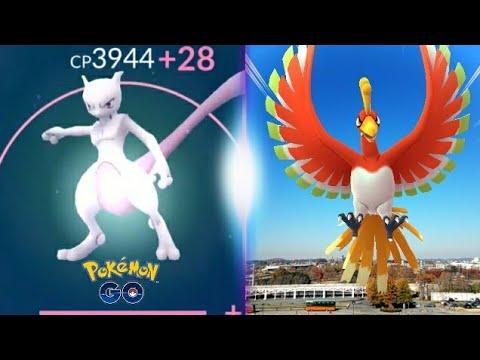 MEWTWO MAXED OUT TO LEVEL 40!! Pokemon GO