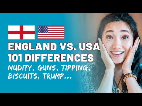 101 Differences Between England & America   Cultural Differences USA vs England