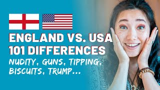 101 Differences Between England & America | Cultural Differences USA vs England