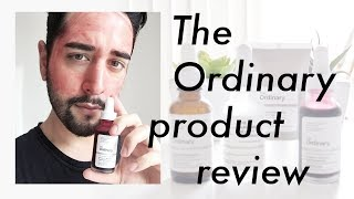 The Ordinary Skincare Products Review - Hyaluronic Acid, Retinoid, Peeling Solution ✖ James Welsh