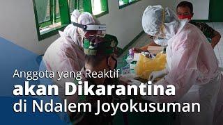 Antisipasi Penyebaran Virus Corona, 140 Anggota Kodim/0735 Solo Jalani Rapid Test