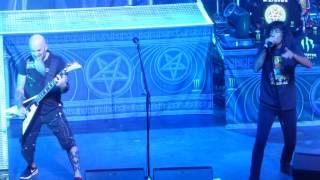 """I Am the Law"" Anthrax@Wellmont Theatre Montclair, NJ 3/29/17"