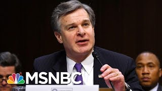Joe: Institutions 1, Chaos 0 After FBI Director Christopher Wray's Hearing | Morning Joe | MSNBC | Kholo.pk