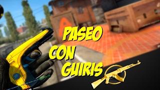 PASEO CON GUIRIS   OBJETIVO AK #3   Counter striker: Global offensive