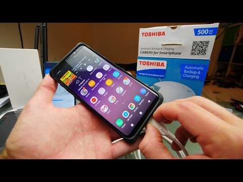 Android Backup Einfach, günstig & schnell   Toshiba Canvio Smartphone Test
