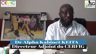 Interview 3 : Dr Alpha Kabinet KEITA avec l'AJSG, diagnostic de Coronavirus en Guinée