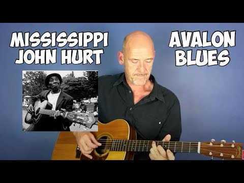 Avalon blues - Guitar lesson by Joe Murphy