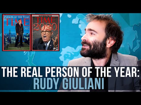 The REAL Person of the Year: Rudy Giuliani - SOME MORE NEWS