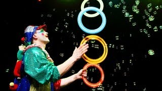 Circus Clown Act - Funny Clown Performance For Kids On Birthday Party
