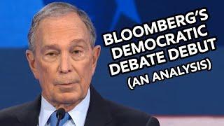 Bloomberg's Democratic Debate Debut: An Analysis
