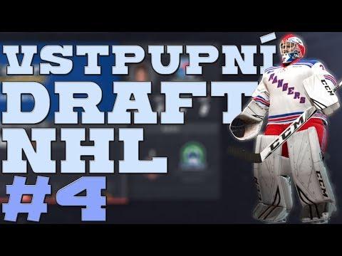 NHL 19 | KOBLIH GOLMANEM #4 | VSTUPNÍ DRAFT NHL! | CZ/SK