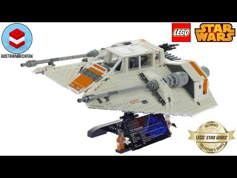 Vidéo LEGO Star Wars 75144 : Snowspeeder