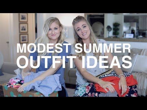 Modest Summer Outfit Ideas