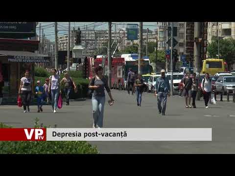 Depresia post-vacanță