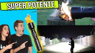 ¿Es esta la linterna mas potente del mundo? ¿Prende cosas? ¿Funciona la flash torch?