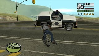 GTA San Andreas – how to max out Cycling Skill at the very beginning of the game