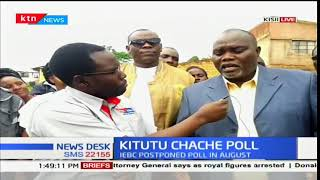 Voting underway in Kitutu Chache South constitution with low voter turnout
