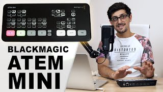 Blackmagic ATEM MINI: How to setup and LIVE STREAM in HD