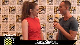 Carly Chaikin : San Diego Comic-Con 2016