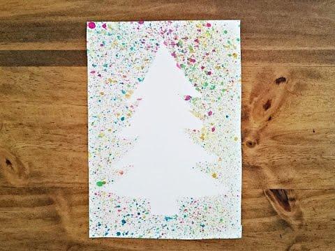Bricolage Noël. Fabriquer une carte de Noël