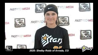 2020 Shelby Robb Second Base and Shortstop Softball Skills Video