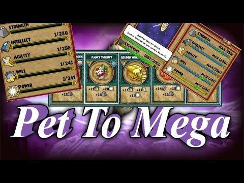 WIZARD101: 3 FIRE PETS TO MEGA IN ONE VIDEO!!! - смотреть