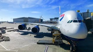 (A380 BUSINESS CLASS) British Airways | Los Angeles   London Heathrow