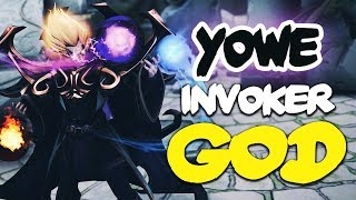 A New Legend Is Born - Yowe Crazy Invoker Spammer - EPIC Dota 2 Gameplay