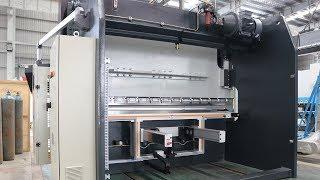 KRRASS® 125 Ton X 3200 7Axis CNC Press Brake with DELEM DA66T CNC 4 Axis Backgage X R Z1 Z2 X Prime