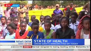 Tharaka Nithi governor has rubbished claims made by KNUN officials on delayed payments for nurses