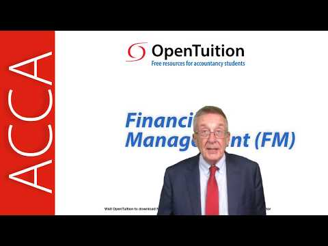 Introduction to the ACCA Financial Management (FM) Exam ...