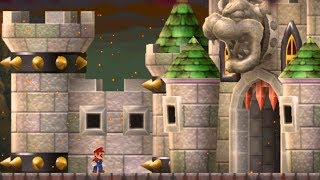 Another Super Mario Bros Wii - World 8 Final Castle