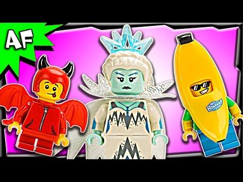 Vidéo LEGO Minifigures 71013 : Série 16