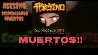 Asesino - Despedazando Muertos (Lyrics) (HD)