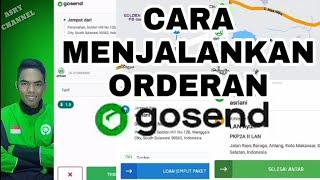 Cara menjalankan orderan gosend  #Asry_Channel