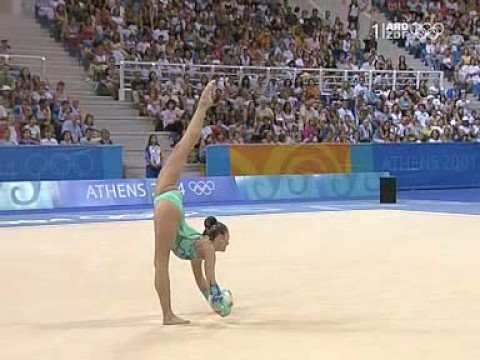 Olympic Games Athens 2004 - Alina Kabaeva RUS Ball final