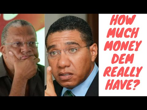 Peter Phillips Claims His Real Estate Only Worth $3 Million - Andrew Holness Hiding His Millions?