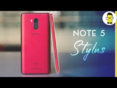 Infinix Note 5 Stylus - a budget Galaxy Note 9? Unboxing and Hands-on Review