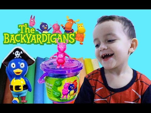 Backyardigans Massinha de Modelar Play-Doh Mini Balde da Diversão Sunny