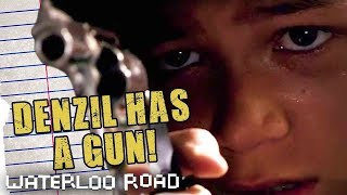 Denzel Fires A Gun In School: Waterloo Road Throwback Thursdays