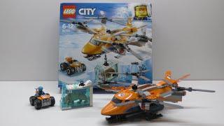Обзор конструктора LEGO City Arctic Expedition Арктический вертолёт (60193)