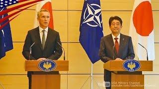 「北朝鮮へ圧力強化で一致」日本・NATO共同記者発表ノーカット-2017/10/31