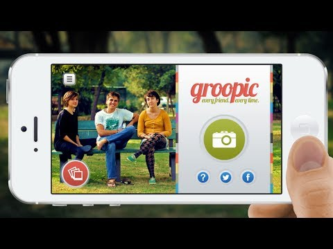 Groopic Takes Group Photos Without Needing To Ask Strangers To Shoot